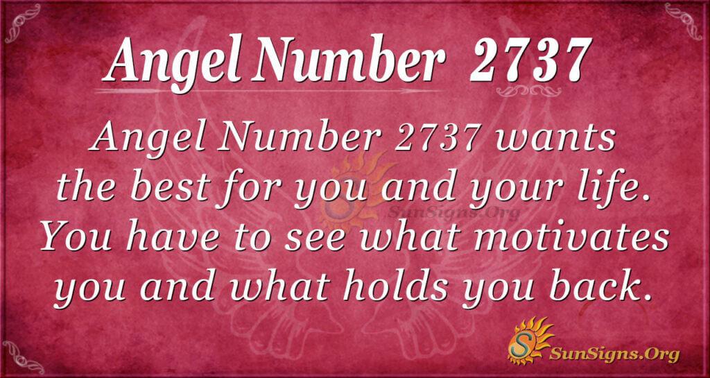 Angel number 2737