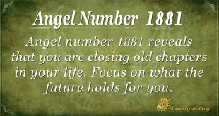 angel number 1881