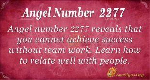 angel number 2277