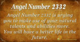 angel number 2332