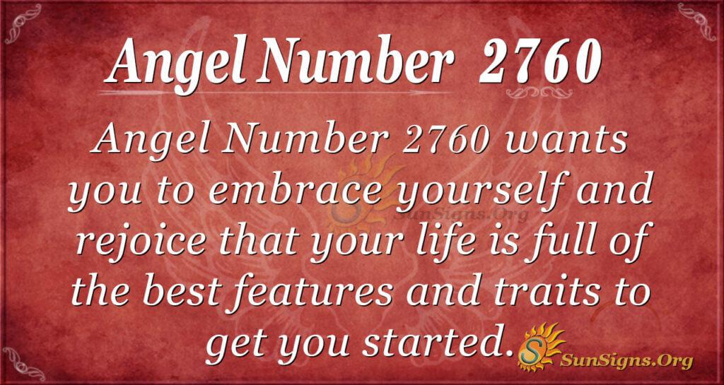 Angel Number 2760