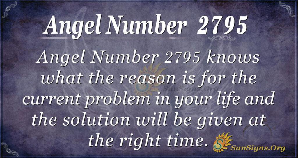 Angel Number 2795