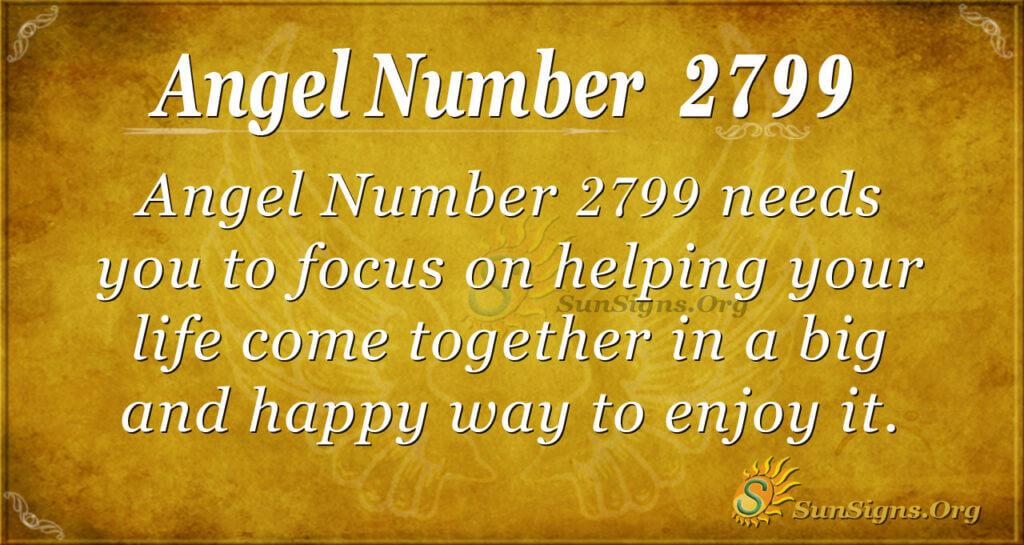 Angel Number 2799