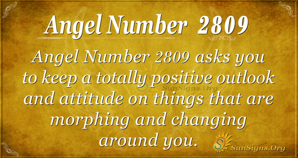 Angel Number 2809