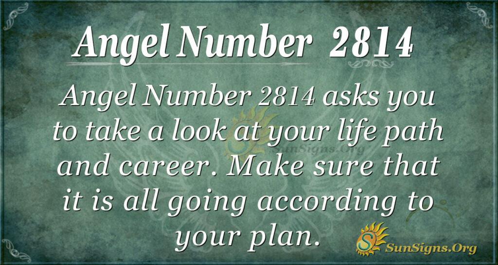 Angel Number 2814
