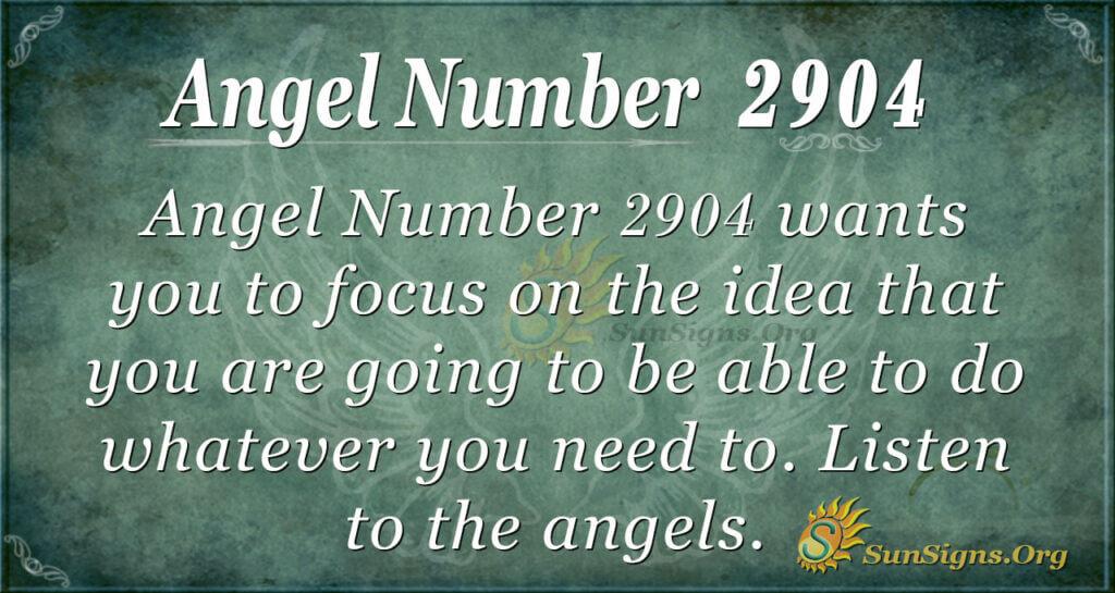 2904 angel number