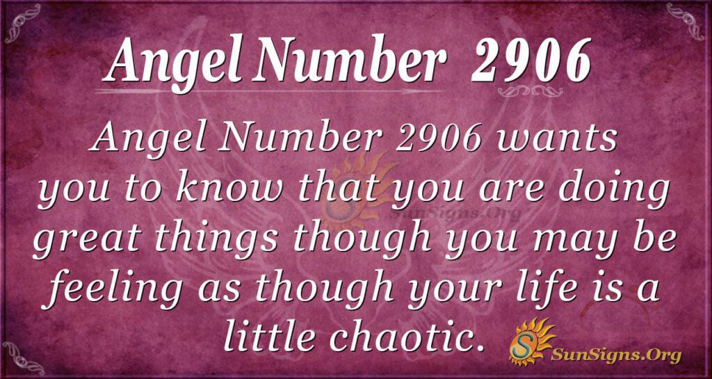2906 angel number