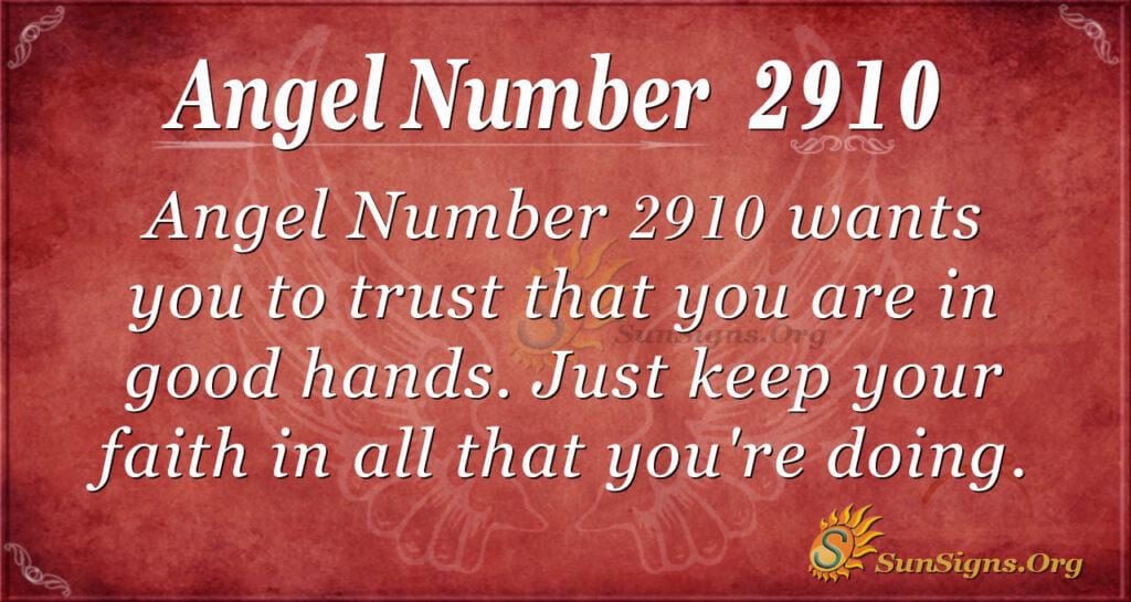 2910 angel number