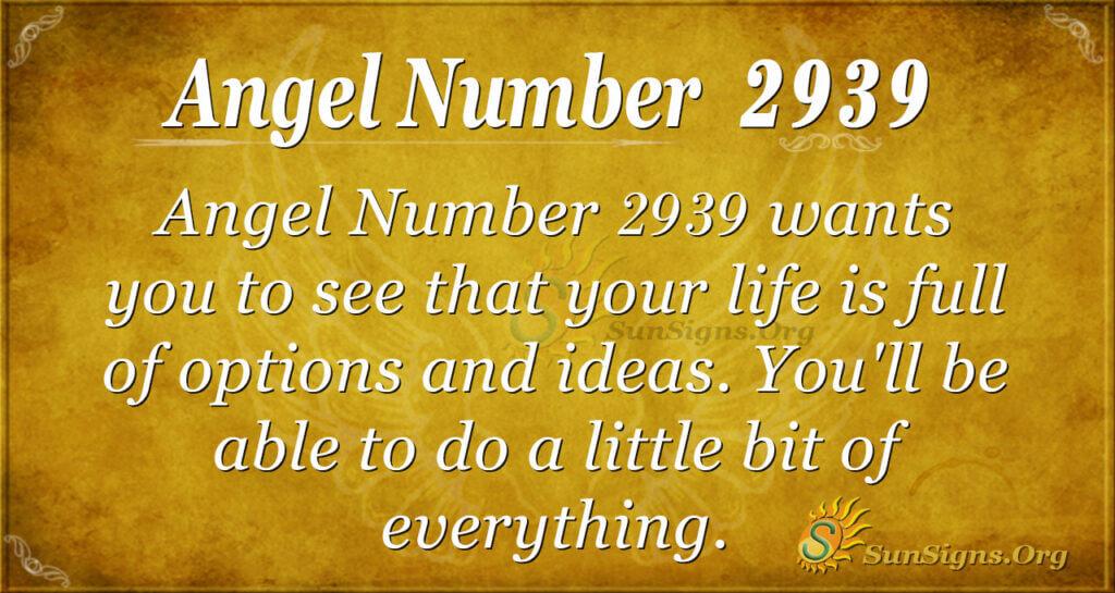 2939 angel number