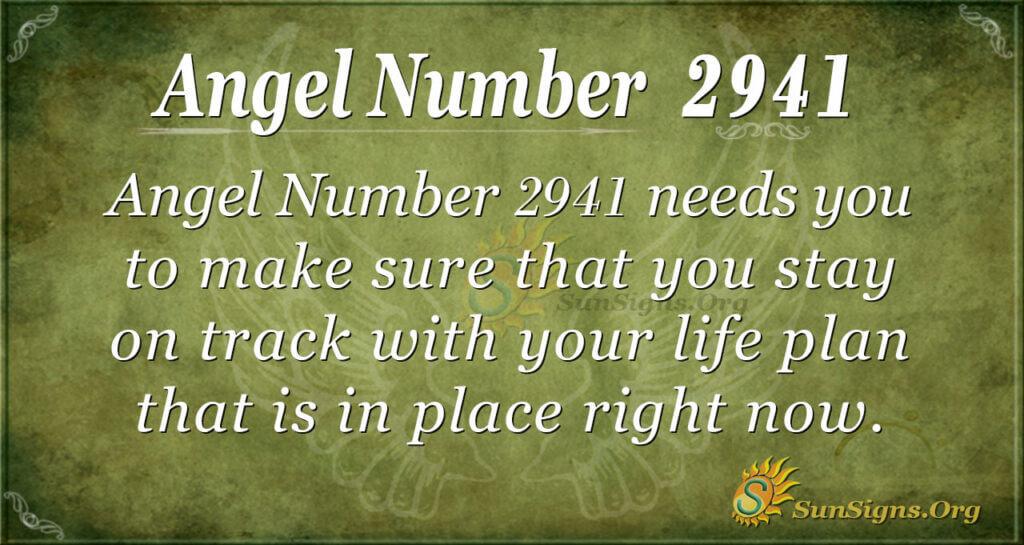 2941 angel number