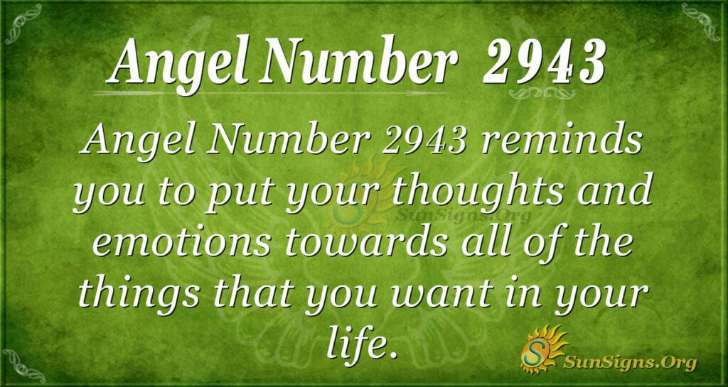 2943 angel number