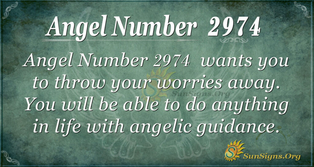 Angel number 2974