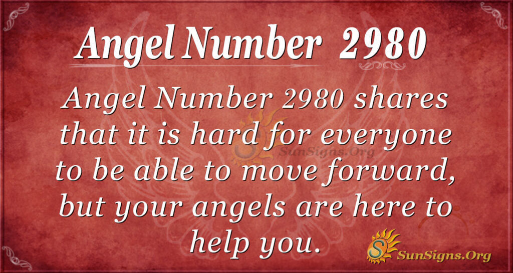 Angel Number 2980