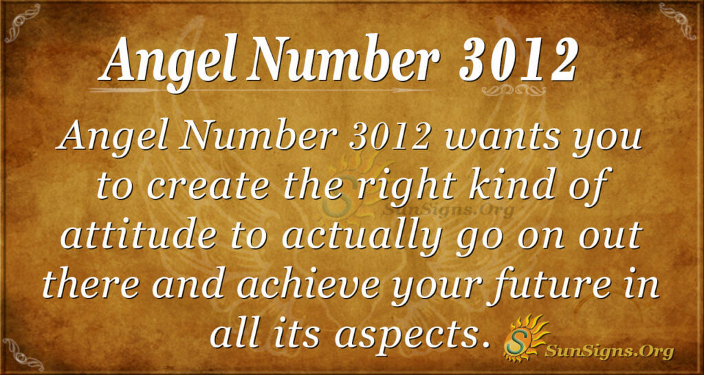 Angel Number 3012
