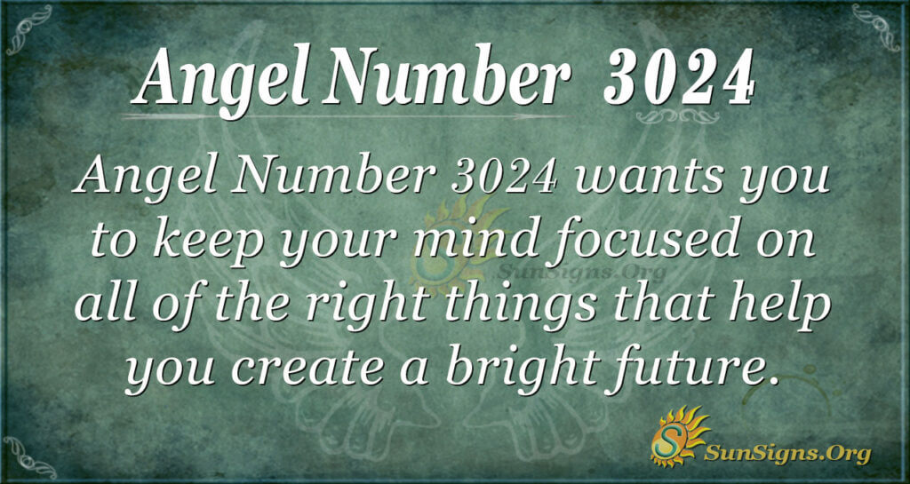 Angel Number 3024