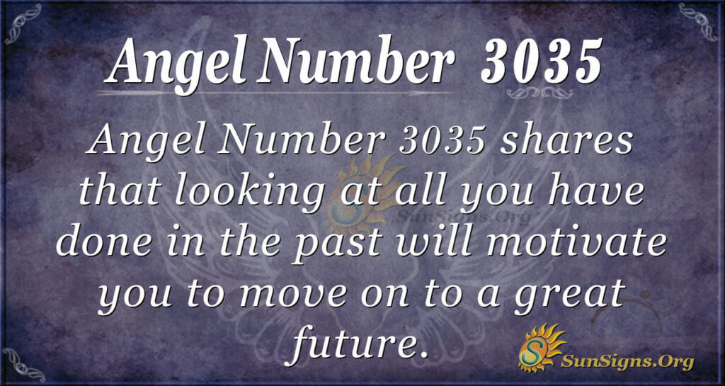 Angel Number 3035