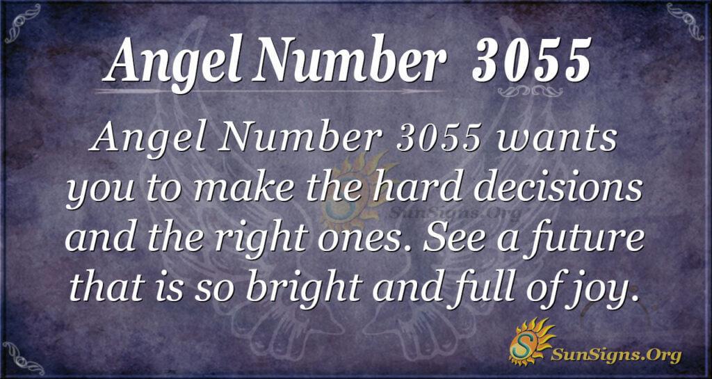 Angel Number 3055
