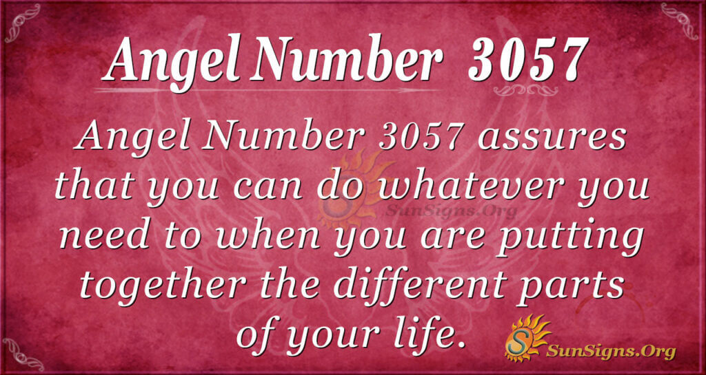 Angel Number 3057