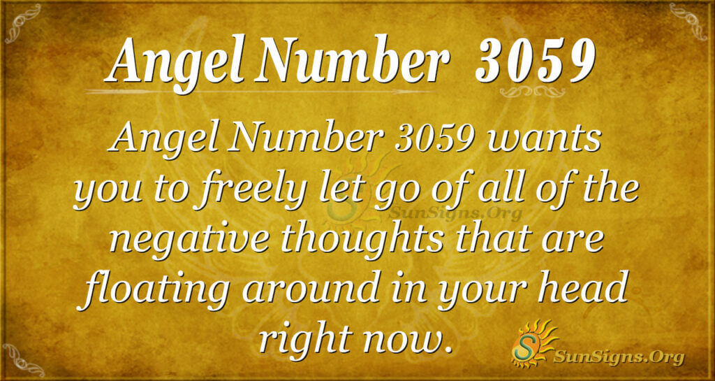 Angel Number 3059