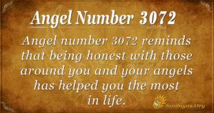 Angel Number 3072