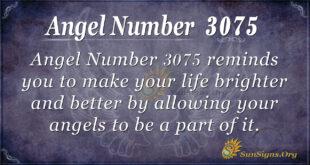 Angel Number 3075