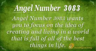 Angel Number 3083
