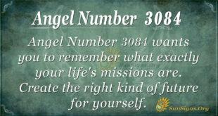 Angel Number 3084