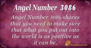 Angel Number 3086