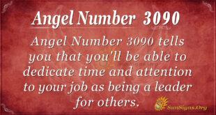 Angel Number 3090