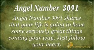 Angel Number 3091