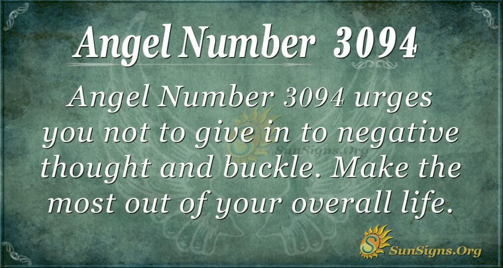 Angel Number 3094