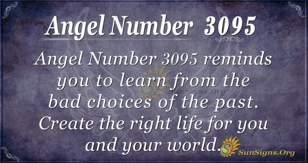 Angel Number 3095