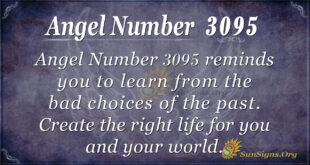 Angel Number 3095
