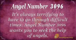 Angel Number 3096