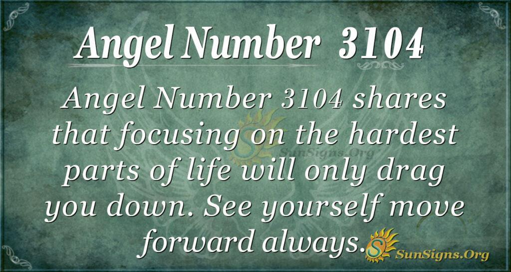 Angel Number 3104