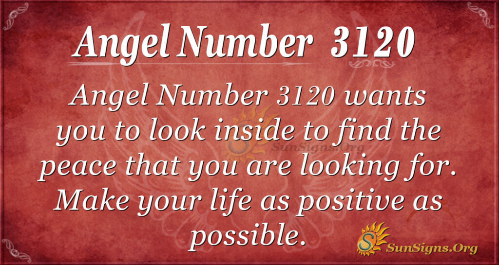 Angel Number 3120