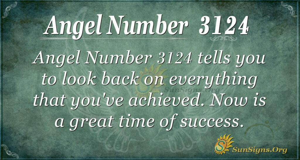 Angel Number 3124