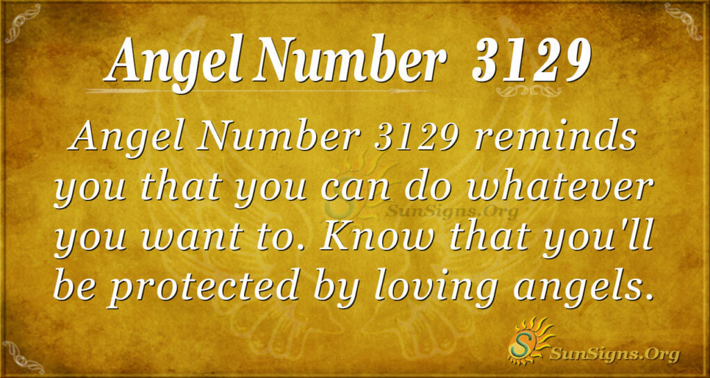 Angel Number 3129