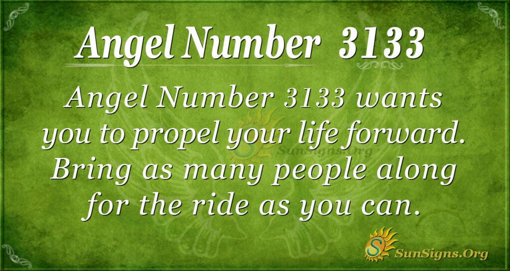 Angel Number 3133