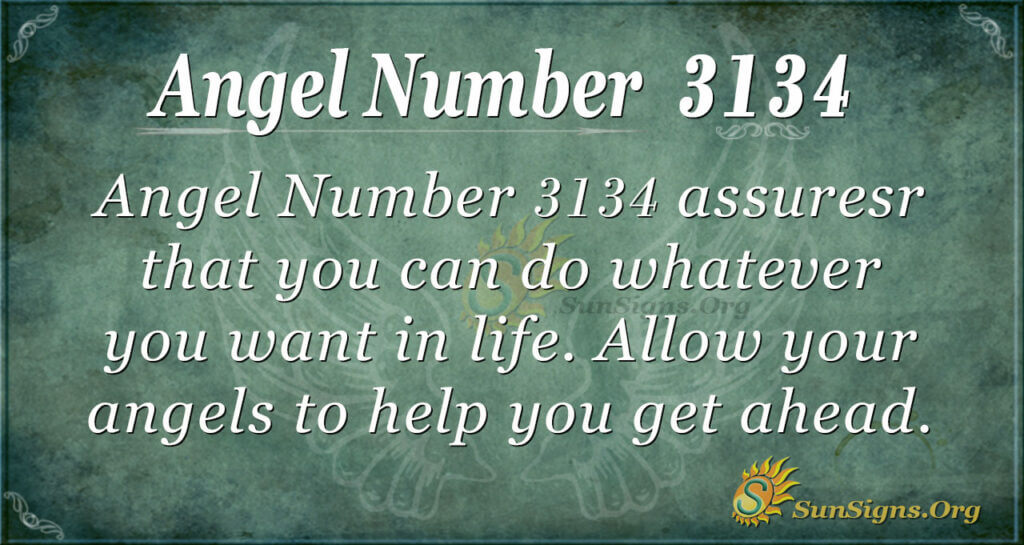 Angel Number 3134