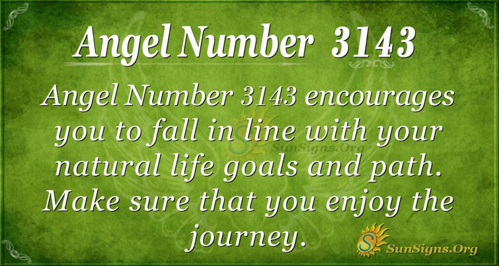 Angel Number 3143