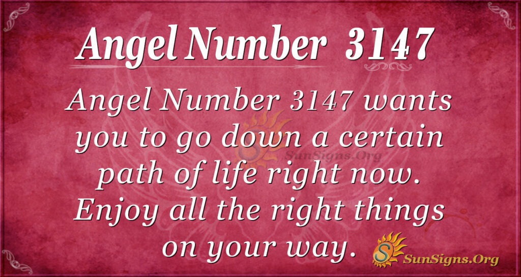 Angel Number 3147