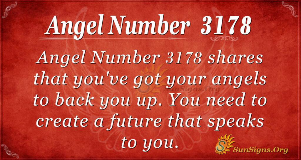 Angel Number 3178