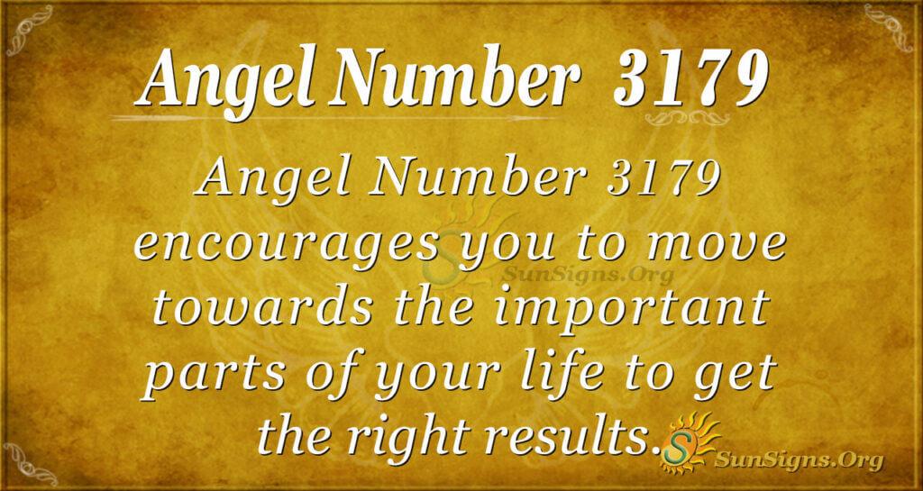 Angel Number 3179