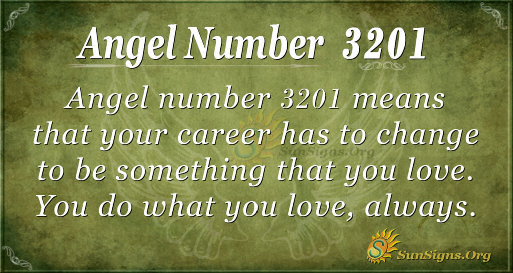 Angel Number 3201