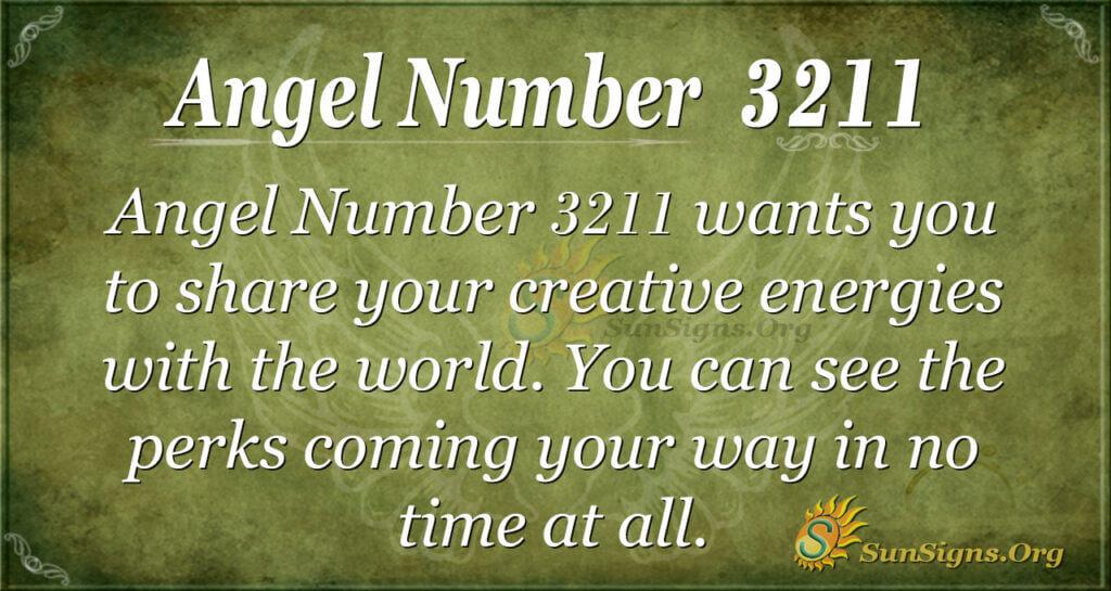 Angel Number 3211