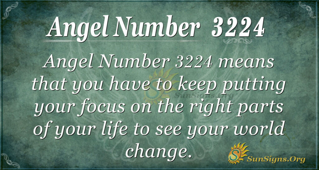 Angel Number 3224
