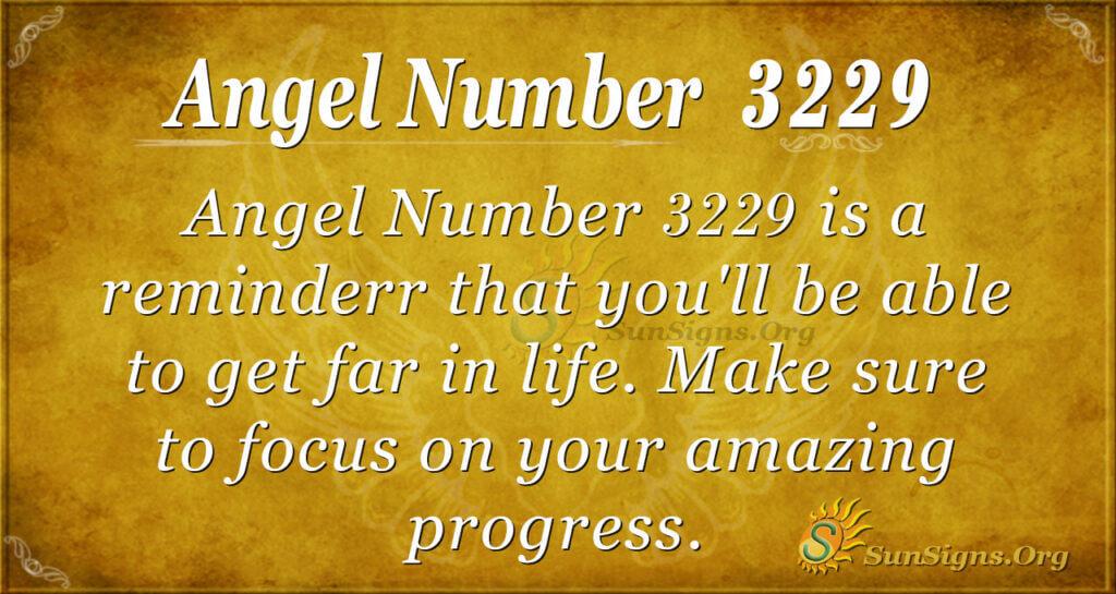 Angel Number 3229