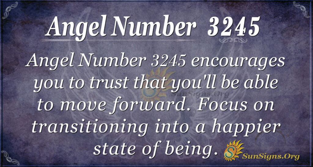 Angel Number 3245