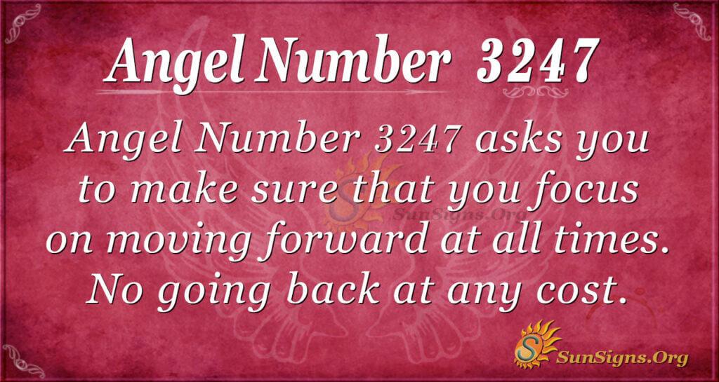 Angel Number 3247
